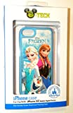 NEW Disney D-tech World WDW Parks Authentic 2014 Frozen Olaf Elsa Anna Iphone 5c Phone Hard Case & Screen Guard Cleaning Cloth