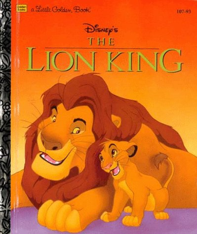 Disney's The Lion King (Little Golden Book) cover image