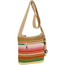 The SAK Casual Classics Cross Body Bag,Playa Stripe,One Size