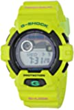 G-Shock GWX8900 Glide with Tide Graph Classic Series Watch - Neon Green/Black/Green Accents / One Size