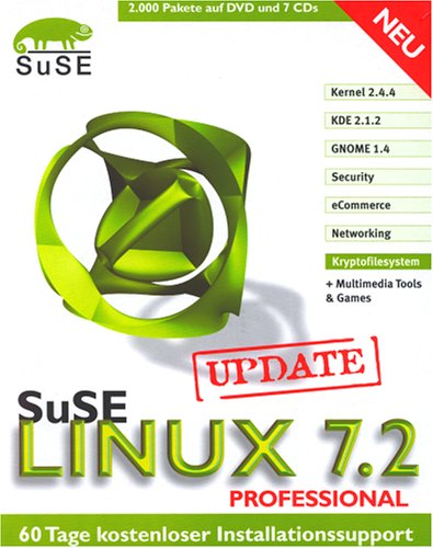 Suse Linux - 7.2 Professional Update