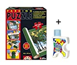 Pack Puzzle Roll + Pegamento/Conserver. Tapete universal para transportar/guardar puzzles + pegamento/conserver