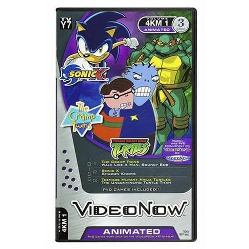 Amazon.com: Videonow Personal Video Disc 3-Pack: Sonic X