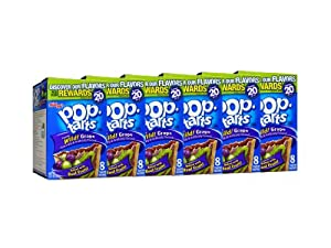 Kellogg Pop-Tarts Wild Grape, 14.1000-Ounce (Pack of 6)