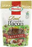 Made with Picnic Bacon. Smoke flavoring added. 30% less fat than USDA data for pan-fried bacon. Real taste, real easy. This package is equivalent to approximately 1 pound of uncooked bacon. 1 tbsp is equivalent to 1 slice of fully cooked bacon. Fat content has been lowered from 3 g to 2 g per serving. Inspected and passed by US Department of Agriculture.