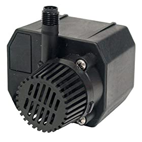 Beckett 7060110 210 GPH Underwater Pump for Small Ponds, Fountains, Waterfalls