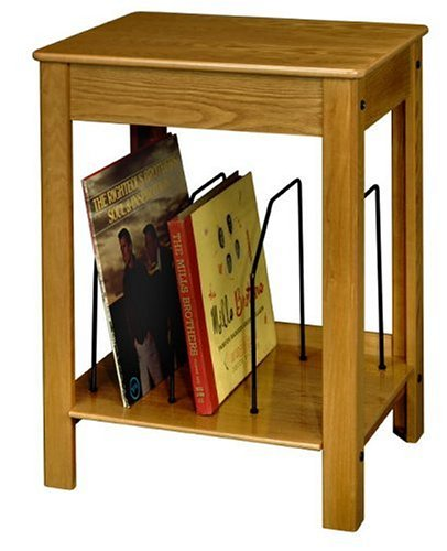 Crosley ST48 Turntable/Entertainment Center Stand, Oak
