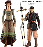 DOCTOR WHO SERIES 6 ACTION FIGURE SET IDRIS & UNCLE