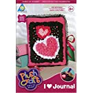 Plush Craft - Fabric By Number Kit - I Love Journal - 200+ Pc