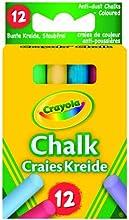 Comprar Crayola 0281 - 12 Tizas De Colores Antipolvo