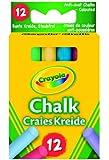 Crayola - 281 - Loisir Créatif - 12 Craies Couleurs