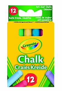 Crayola - Anti Dust Assorted Chalk