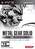 Limited Edition Metal Gear Solid HD Collection PS3