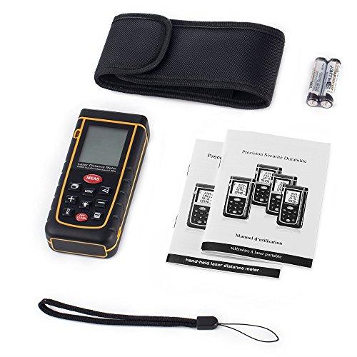 test grde 0 16 bis 131ft laser entfernungsmesser digital beweglicher staubdicht ip54 abstand. Black Bedroom Furniture Sets. Home Design Ideas