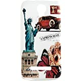 Purple Eyes Express Mail New Glow Back Case Cover Case Cover For Micromax Bolt Q335