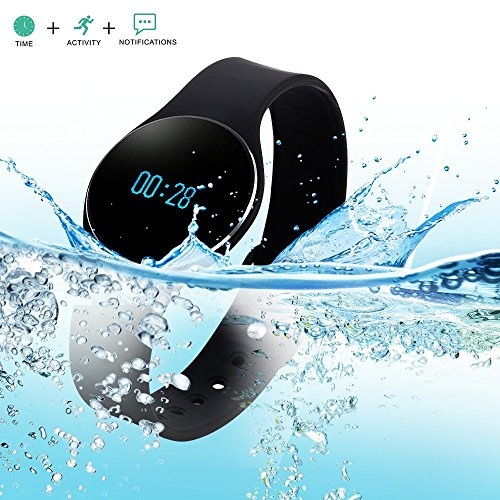 Bluetooth 4.0 Smart Bracelet Waterproof Sport Watch with SMS Reminder