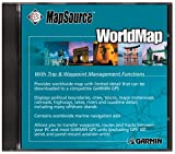 Garmin Mapsource WorldMap - with Trip and Waypoint Manager