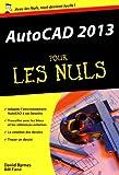 echange, troc David BYRNES - AutoCAD 2013 Poche pour les Nuls