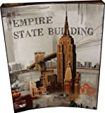 New York Arched Wall Picture 40cm x 50cm Empire State Building
