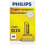 Philips D3S Standard Xenon HID Headlight Bulb, 1 Pack