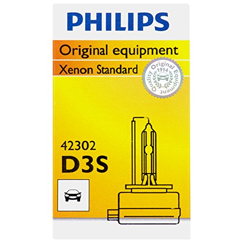 Philips D3S Standard Xenon HID Headlight Bulb, 1 Pack (Hid Headlights For 2014 Camaro compare prices)