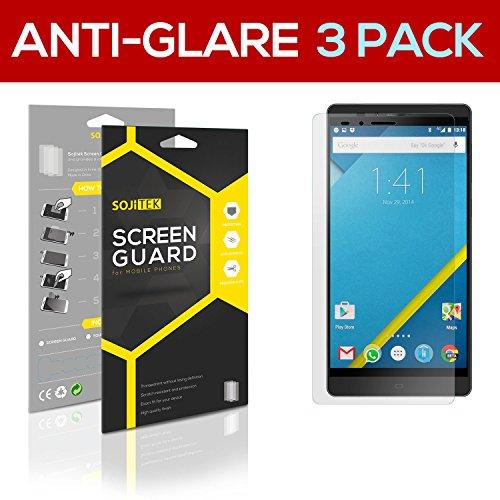 SOJITEK Elephone Vowney Premium Anti-Glare Anti-fingerprint Matte Screen Protector [3 Pack] Lifetime Replacements Warranty + Retail Packaging