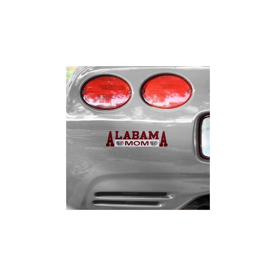 NCAA Alabama Crimson Tide Mom Car Decal