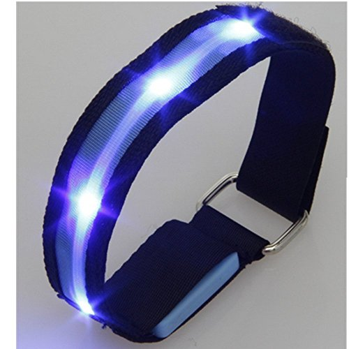 led safety light 2 pack clip on strobe running lights great for runners. Black Bedroom Furniture Sets. Home Design Ideas