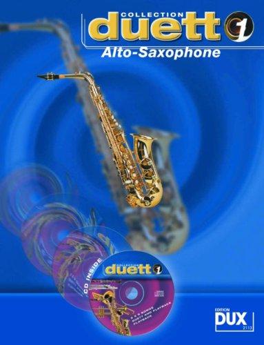 Edition DUX - Duetti per sax contralto, partiture di 10 famose melodie, da Verdi agli ABBA, con CD [lingua tedesca]