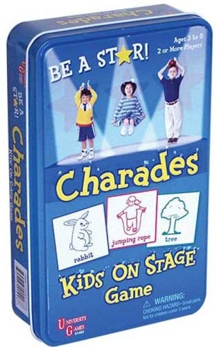 Charades Kids on Stage Tin - 1