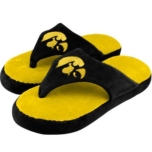 University of Iowa Hawkeyes Flip Flop Sandal Slippers