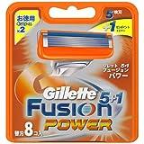 ジレット フュージョン5+1パワー 専用替刃 8B