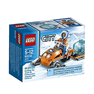 LEGO City Arctic Snowmobile 60032 Building Toy by LEGO City Arctic