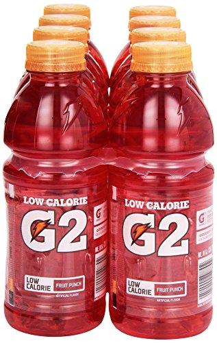 8 Ct, 20 Oz Fruit Punch G2 Gatorade