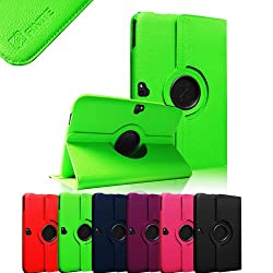 Fintie (Green)360 Degrees Rotating Vegan Leather Stand Case Cover (With Auto Sleep/Wake Up Feature) for Google Nexus 10 Inch Android Tablet - Multiple Color Options