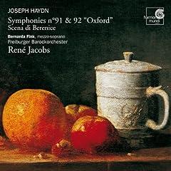 "Haydn: Symphonies No. 91 & 92 ""Oxford"" - Scena di Berenice"