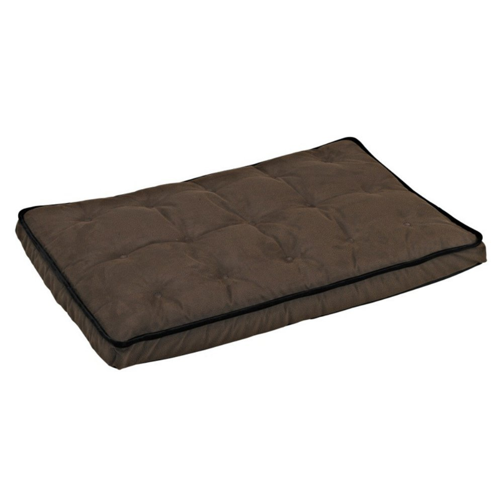 Luxury Crate Mattress Dog Bed in Pewter Bones (Grey) knowing in our bones
