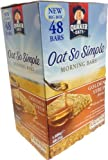 QUAKER OATS Oat so simple Golden Syrup 48Bars of 35g Each 1.68 Kg