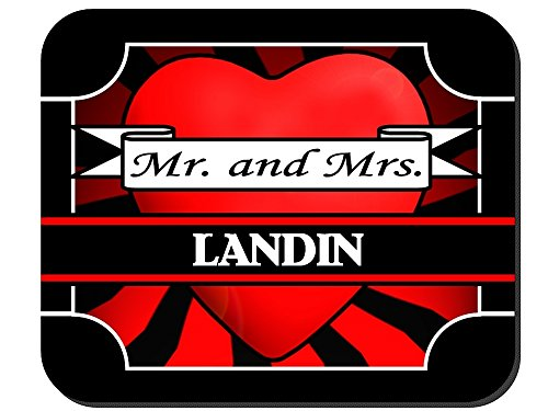 Mr. and Mrs. Landin - Mouse Pad