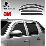Mercedes GL X166 Rain Guards / Rain Visors / Sun Visors / Sun Deflector / Vent Shade - 4 Pcs - Fits 2013-2015... by BLACK HORSE
