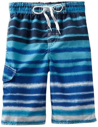 (3.6折)Kanu Surf Boys 8-20 Quantum 男童Royal Blue色游泳裤$9.46,