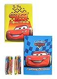 Disney Pixar Cars Coloring Booklet and Crayons 8x5.5 (2 Booklets at Random)