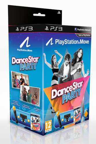 PlayStation 3 - Sony Move Starter Pack con DanceStar Party [Bundle]