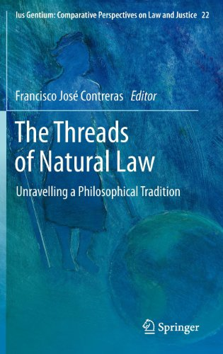 The Threads of Natural Law: Unravelling a Philosophical Tradition (Ius Gentium: Comparative Perspectives on Law and Just