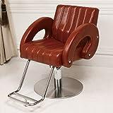 < エトゥベラ > スタイリングチェア テンダー TD-669 ダークブラウン [ チェア 椅子 イス セットチェア セット椅子 セットイス カットチェア カット椅子 カットイス 美容室椅子 美容室 美容師 ]