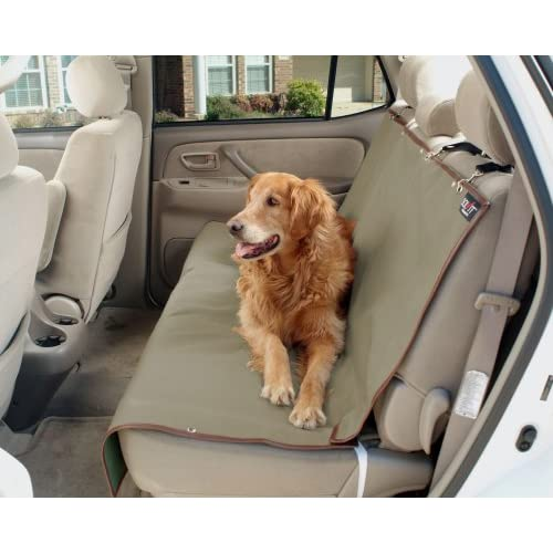 new solvit 62313 waterproof car bench seat cover dog cat pets 2 sta put devices ebay. Black Bedroom Furniture Sets. Home Design Ideas