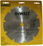 DEWALT DW3332 7-1/4-Inch 60 Tooth ATB Master Combination Saw Blade with 5/8-Inch and Diamond Knockout Arbor