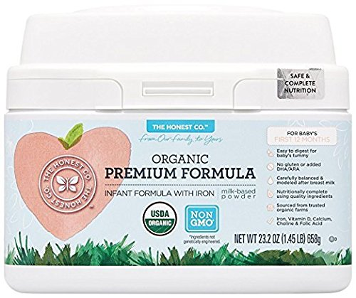 Organic Honest Co Infant Formula