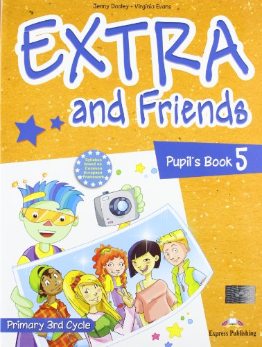 Extra & Friends 5 Primary 3rd Cycle Pupil's Book (Spain)