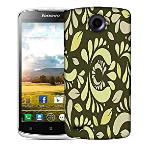 Snoogg seamless floral pattern abstract background Designer Protective Back Case Cover For Lenovo S920